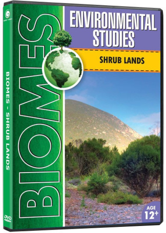 Biomes - Shrub Lands(DVD English)