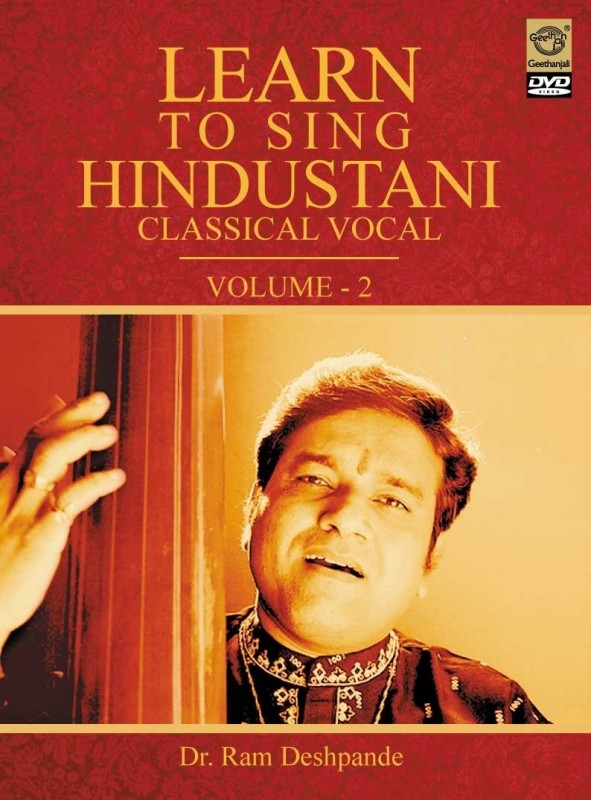 Learn To Sing Hindustani Vocal - 2(DVD Hindi)