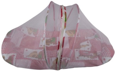 Mommas Baby Bed With Net Single Printed