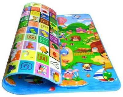 Icuddle Polyester Large Baby Playing Mat Printed