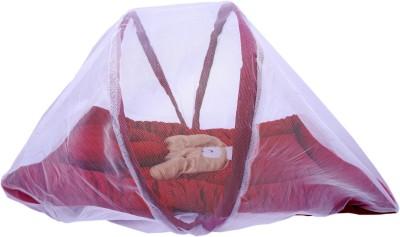 Surhome SOLID SET Baby Carry Bed BUNK(VELVET, Maroon)