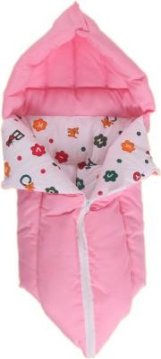 Jinglers 3 in 1 Baby Carry Bed Pink Sleeping Bag