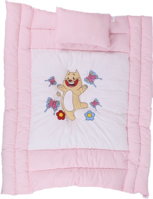 Jinglers Super Cotton Baby Bed Xl Crib Pink