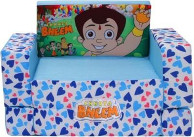 Kiddozone Chotta Bheem Sofa Sofa Cum Bed 1 sitter