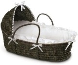 Badger Basket Moses Basket with Hood and...