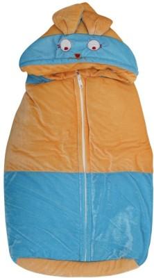 Kidz Corner Baby Wrap Non-convertible Bunk(High Density Fibre, Peach Blue)