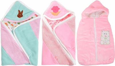 ROYAL SHRI OM REVERSABLE BABY WRAP BABY WRAPPER PRINTED