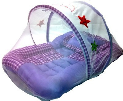 Gennext baby bed with mosquito net convertable bunk