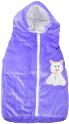 Royal Shri Om Hooded Wrap Baby Wrapper Plain