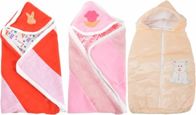 ROYAL SHRI OM BABY WRAP COMBO BABY WRAPPER PRINTED