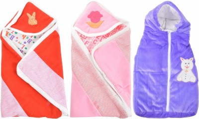 ROYAL SHRI OM COMBO OF KIDS WRAP BABY WRAPPER PRINTED