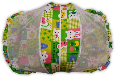 Payal Kids Baby Bed with mosquito net Convertible Apple