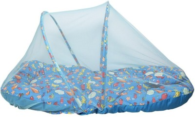 Morisons Baby Dreams Baby Bedding Set Printed With Mosquito Net Convertible Crab