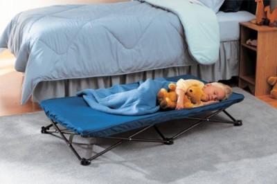 Regalo My Cot Portable Bed Convertible Crib
