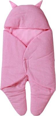 Trendz home furnishing Checkered Single Dohar Pink