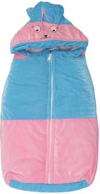 Kidz Corner Baby Wrap Non-convertible Bunk(High Density Fibre, Blue-Pink)