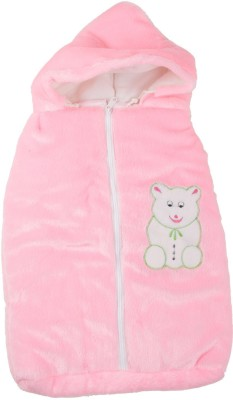 Trendz Home Furnishing Cartoon Crib Dohar Pink