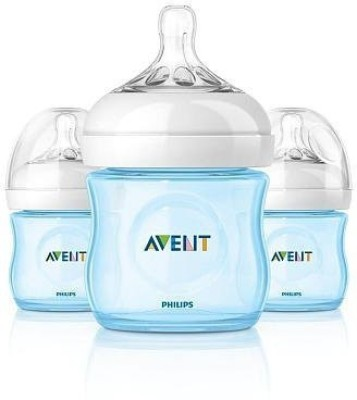 Philips Avent Natural Bottle Set Boy - 118 ml