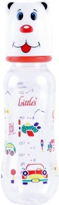 Littles Streamline Maxi White Feeding Bottle - 250 ml