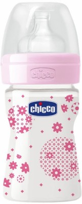 Chicco Wellbeing PP Bottle 150ml Pink - 150 ml(Pink)