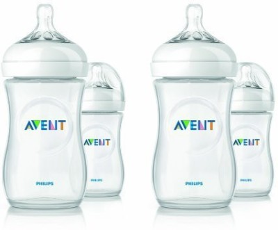 Philips Avent Bpa Free Natural Polypropylene Bottles - 265 ml