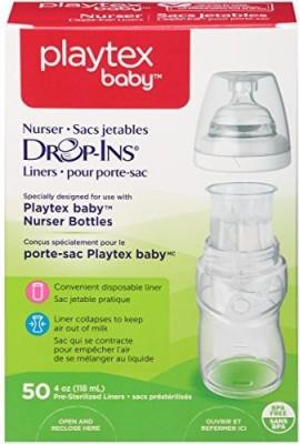Playtex BPA-Free Bottle Liners for Playtex Nurser Bottles - 50 ml