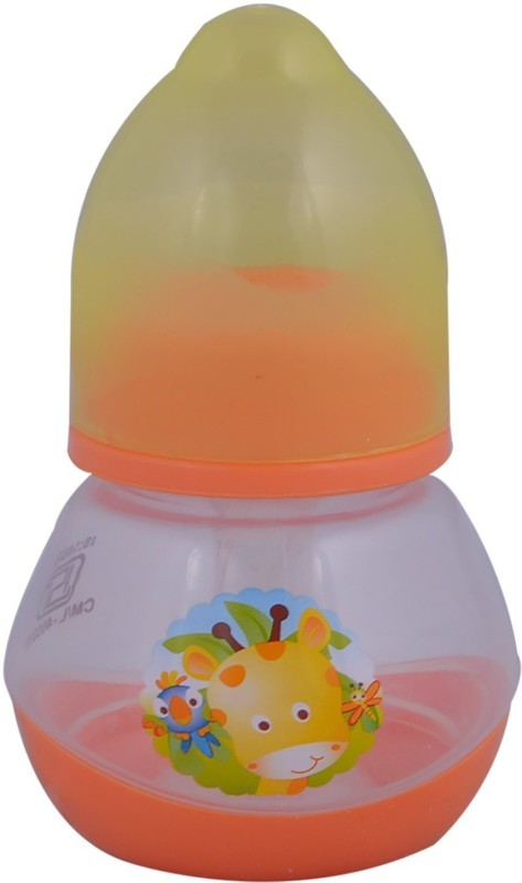 Mommas Baby Feeding Bottle - 60 ml(Orange)
