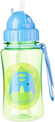 Skip Hop Straw Bottle, Giraffe Zoo - 354.8 ml
