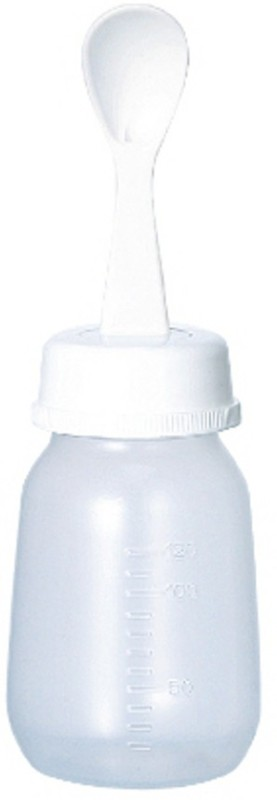Pigeon Weaning Bottle With Spoon 120ml - 120 ml(White)