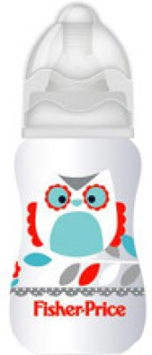 Fisher-Price Feeding Bottle with Silicone Teat - 118.2 ml
