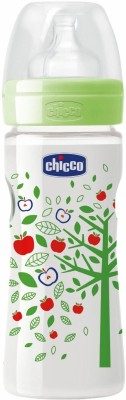 Chicco Wellbeing PP Bottle - 250 ml(Green)