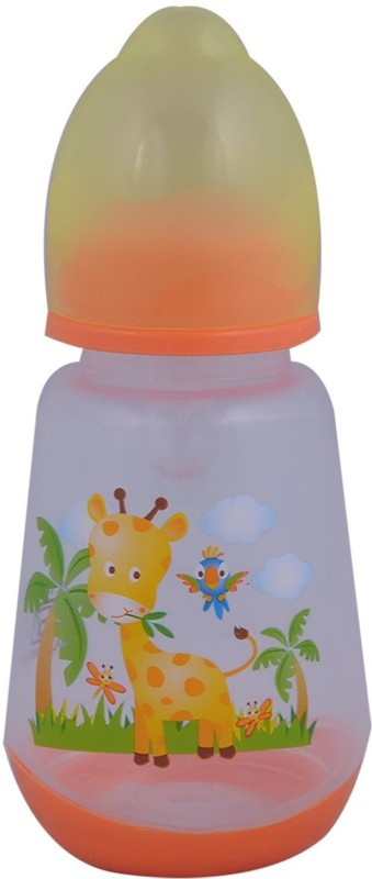 Mommas Baby Feeding Bottle - 125 ml(Orange)