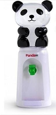 Baby Bucket Useful New 8 Glasses Water Mini Cute Cartoon Shape Water Dispensers Panda Design - 2500 ml(White)
