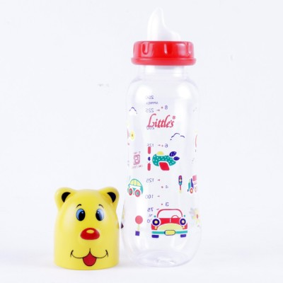 Littles Streamline Maxi Yellow Feeding Bottle - 250 ml