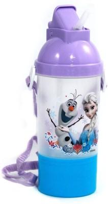 Frozen Rock N Sip N Snack Canteen Water Bottle - 350 ml