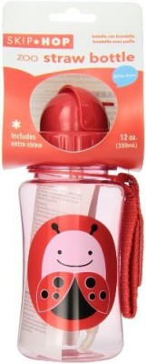 Skip Hop Zoo Straw Bottle Ladybug - 350 ml