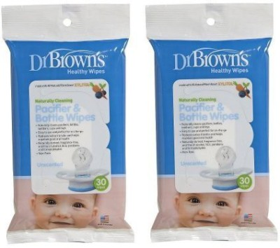 Dr Brown's Pacifier And Bottle Wipes - 236 ml