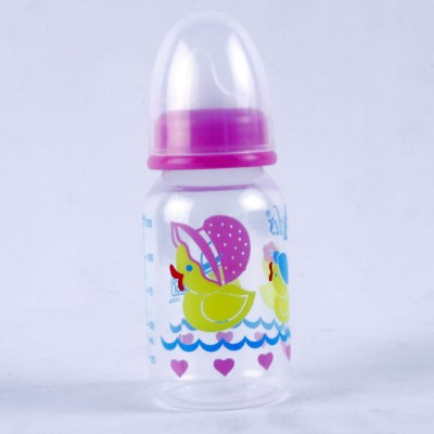 Littles Classic Mini Pink Feeding Bottle - 125 ml