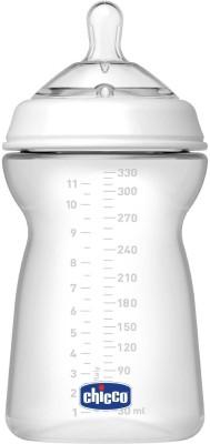 Chicco Fast Flow Feeding Bottle - 330 ml(White)