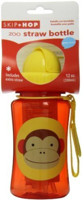 Skip Hop Zoo Straw Bottle Monkey - 350 ml