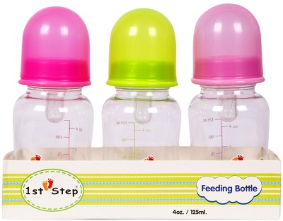 First Step 3Pc Pack Feeding Bottle - 240 ml
