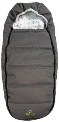 Quinny Bunting Bag(Grey, White)