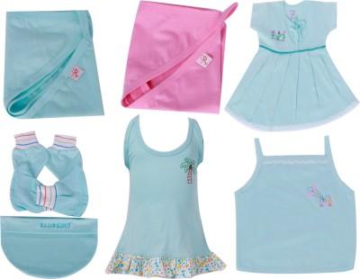 JO kidswear Baby Girls Gift Pack ( 7 Pcs )
