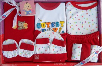 Infant Touch Baby Gift Set - 10 Pcs - Re...