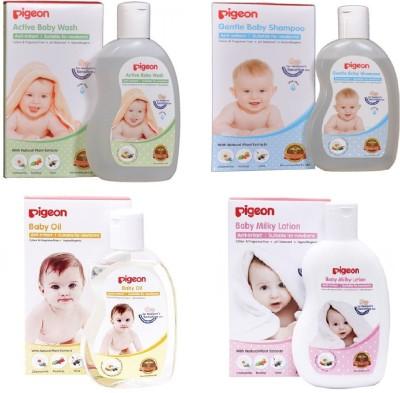 Pigeon Baby Bath Essentials Combo