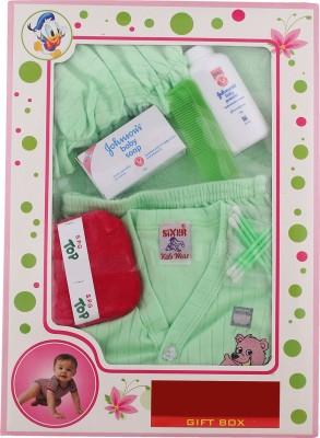 Sixer Knitting Born Baby Gift Set_pista Green