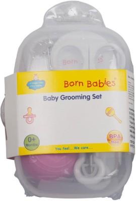 BORN BABIES BABY GROOMING SET(White)