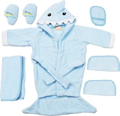 Belle Maison Baby Bath Robe Set (6Pcs.) 12-18 Month