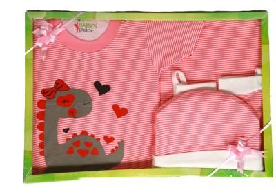 Baby's Pride Baby's Pride Baby Gift Set-7 Pcs (Green) NEW BORN Combo Set