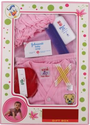 Sixer Knitting Born Baby Gift Set_baby Pink